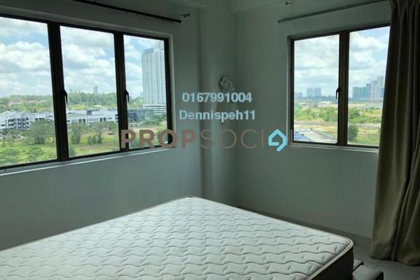 Condominium For Rent in Danga View, Danga Bay Freehold Semi Furnished 3R/2B 1.2k