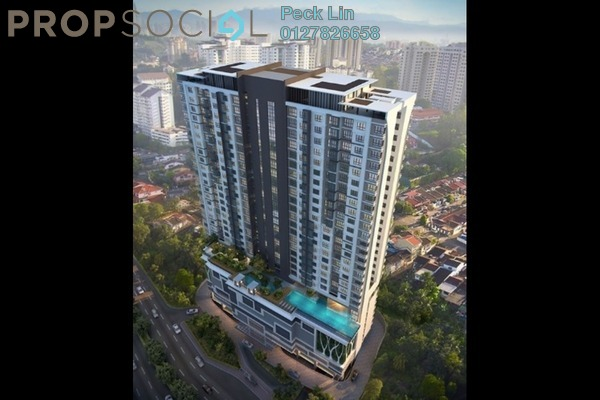 Serviced Residence For Sale in Avantas Residences, Old Klang Road Freehold Unfurnished 2R/1B 618k
