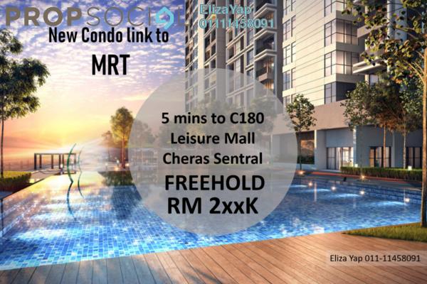 Condominium For Sale in The Netizen, Bandar Tun Hussein Onn Freehold Unfurnished 1R/1B 273k