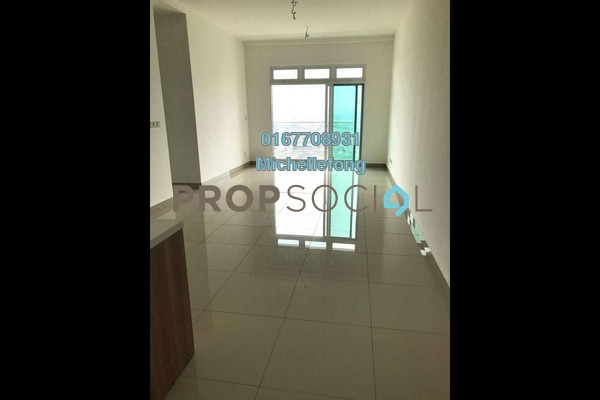 Serviced Residence For Sale in Twin Galaxy, Johor Bahru Freehold Semi Furnished 2R/2B 668k