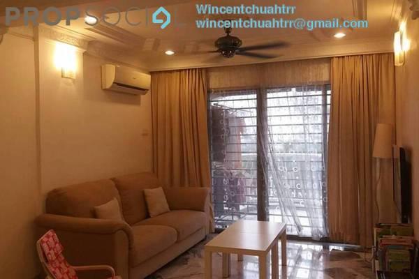 Condominium For Sale in Sri Ledang, Wangsa Maju Freehold Semi Furnished 4R/2B 468k