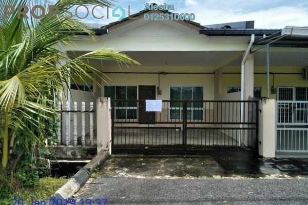 Terrace For Sale in Taman Samarindah, Kota Samarahan Freehold Unfurnished 0R/0B 144k
