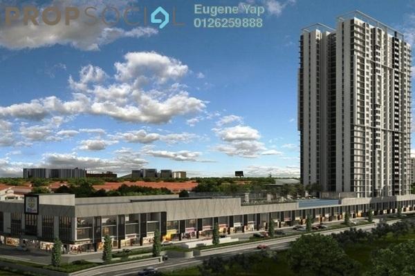 Serviced Residence For Rent in Glomac Centro, Bandar Utama Freehold Semi Furnished 3R/2B 2k