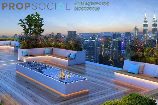 Condominium For Sale in Platinum Splendor Residence, Kuala Lumpur Freehold Unfurnished 4R/2B 469k