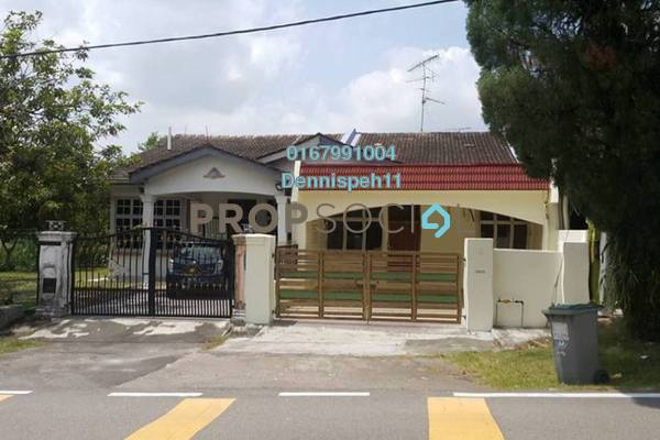 Terrace For Rent in Taman Daya, Tebrau Freehold Unfurnished 3R/2B 1.2k