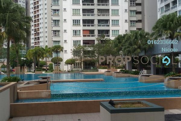 Condominium For Rent in Sterling, Kelana Jaya Freehold Unfurnished 4R/2B 1.9k