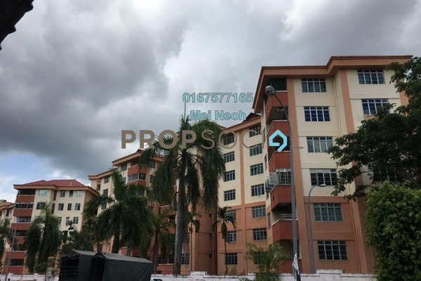 Apartment For Sale in Villa Bestari, Skudai Freehold Unfurnished 3R/2B 310k