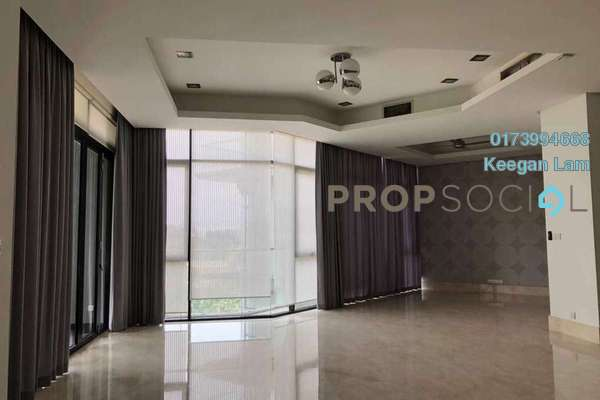 Condominium For Rent in Gallery U-Thant, Ampang Hilir Freehold Semi Furnished 3R/4B 7k