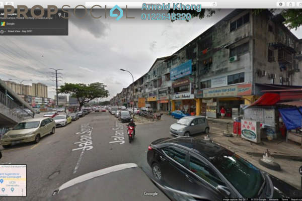 For Rent Shop at Taman Connaught, Cheras Freehold Semi Furnished 4R/2B 5.9k