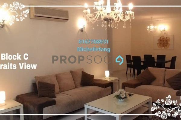 Condominium For Rent in Straits View Condominium, Bandar Baru Permas Jaya Freehold Fully Furnished 3R/3B 2.2k