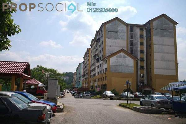 Apartment For Sale in Enggang Apartment, Bandar Kinrara Freehold Unfurnished 0R/0B 117k