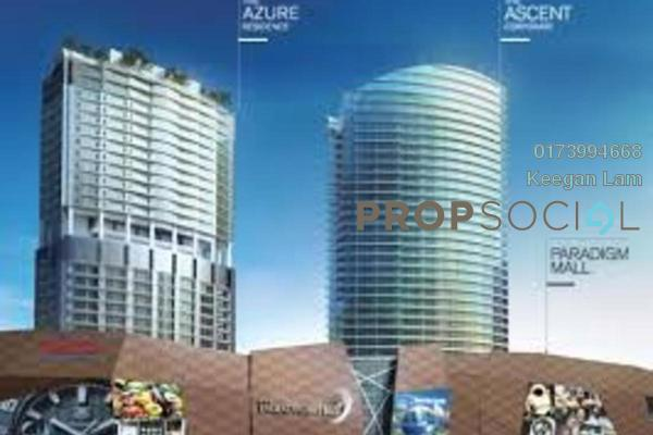 Serviced Residence For Rent in The Azure Residences, Kelana Jaya Freehold Semi Furnished 1R/1B 2.3k