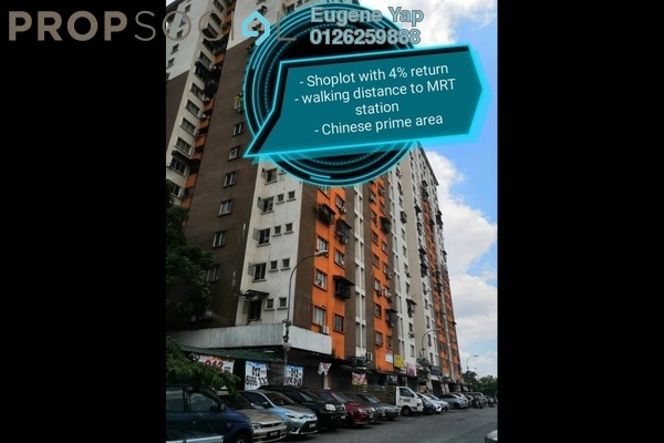 Shop For Rent in Laman Rimbunan, Kepong Freehold Unfurnished 0R/0B 2.2k