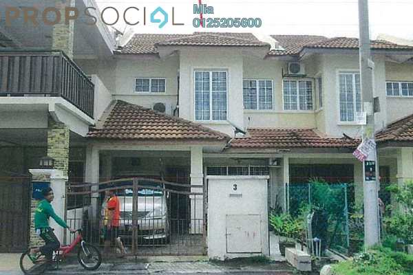 Terrace For Sale in Seksyen 3, Bandar Baru Bangi Leasehold Unfurnished 0R/0B 500k