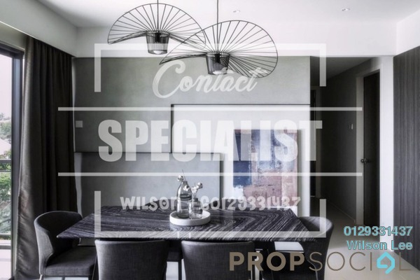 Condominium For Sale in Lakeville Residence, Jalan Ipoh Freehold Semi Furnished 3R/2B 820k