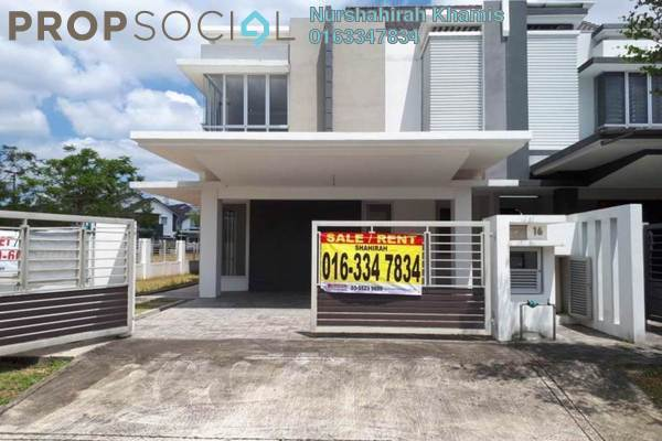 Terrace For Sale in Sephira, Alam Impian Freehold Unfurnished 4R/5B 1.1m