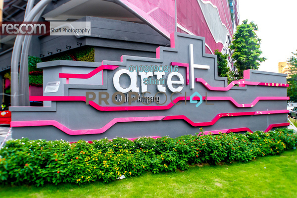 Condominium For Sale in Arte +, Jalan Ampang Freehold Semi Furnished 1R/1B 524k