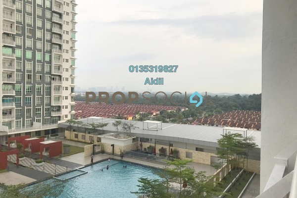 Serviced Residence For Rent in BSP Skypark, Bandar Saujana Putra Freehold Unfurnished 3R/2B 1.1k