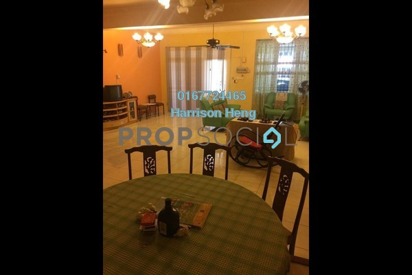 Terrace For Sale in Taman Pulai Utama, Pulai Freehold Semi Furnished 7R/4B 550k