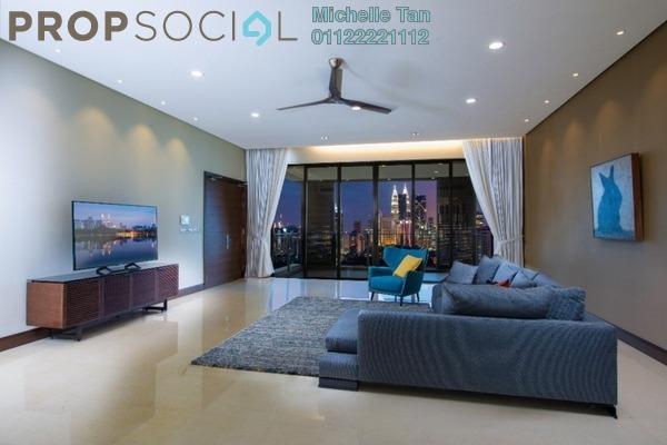 Condominium For Rent in Rimbun, Ampang Hilir Freehold Semi Furnished 4R/5B 18k