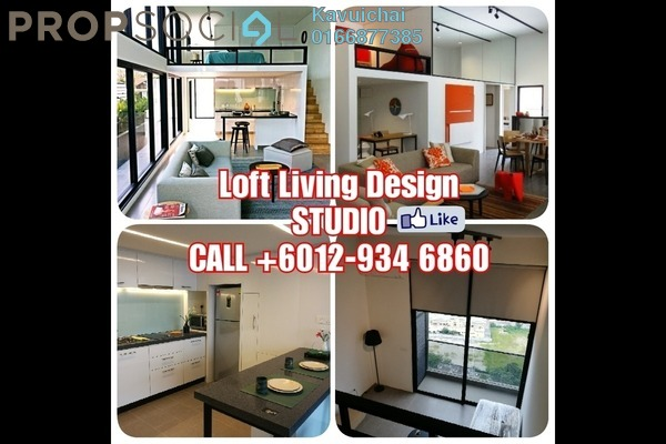 Serviced Residence For Rent in The Establishment, Brickfields Freehold Fully Furnished 1R/1B 2.3k