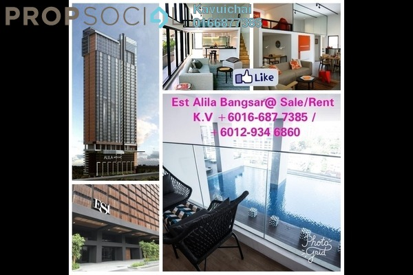 Condominium For Rent in The Establishment, Brickfields Freehold Fully Furnished 2R/2B 3.6k
