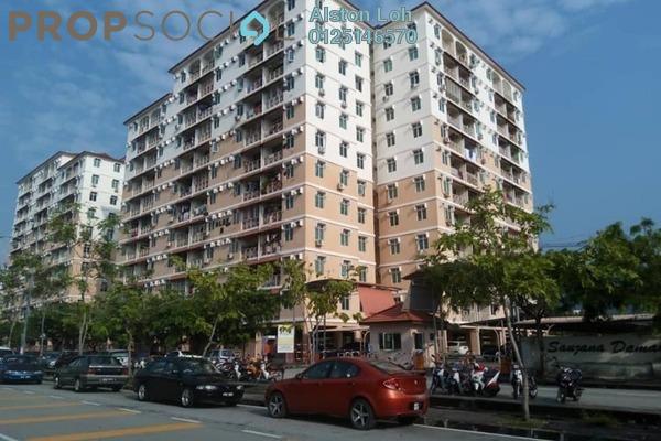 Apartment For Sale in Saujana Damai, Sungai Ara Freehold Semi Furnished 3R/2B 290k