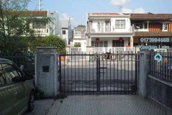 Terrace For Rent in Taman Connaught, Cheras Freehold Semi Furnished 4R/3B 1.6k