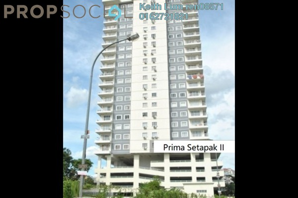 For Sale Condominium at Prima Setapak II, Setapak Freehold Fully Furnished 3R/2B 700k