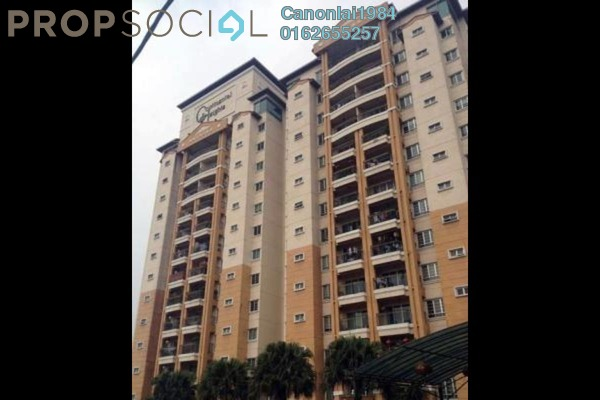 Condominium For Sale in Continental Heights, Kuchai Lama Freehold Semi Furnished 3R/4B 800k