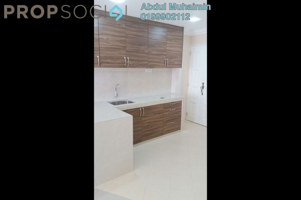 Apartment For Rent in Rampai Court, Setapak Freehold Semi Furnished 2R/1B 1.1k