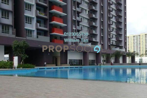 Condominium For Rent in Platinum Lake PV21, Setapak Freehold Semi Furnished 2R/2B 1.2k