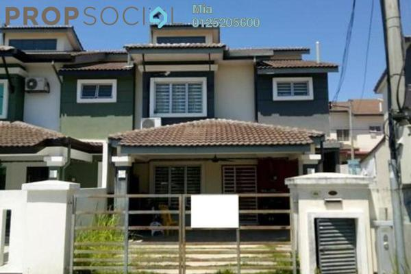 Terrace For Sale in Saujana Rawang, Rawang Freehold Unfurnished 0R/0B 450k