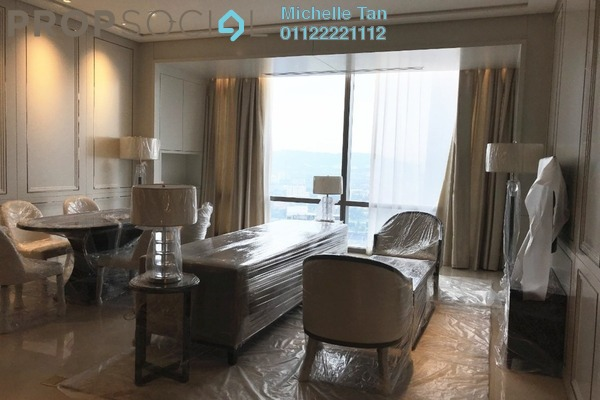 Serviced Residence For Rent in Pavilion Suites, Bukit Bintang Freehold Fully Furnished 2R/2B 15k