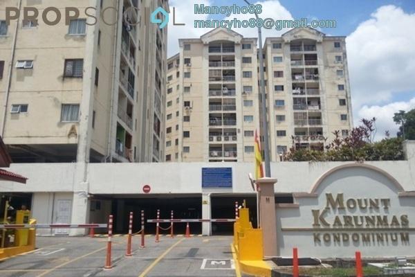 Condominium For Sale in Mount Karunmas, Balakong Freehold Semi Furnished 2R/2B 220k