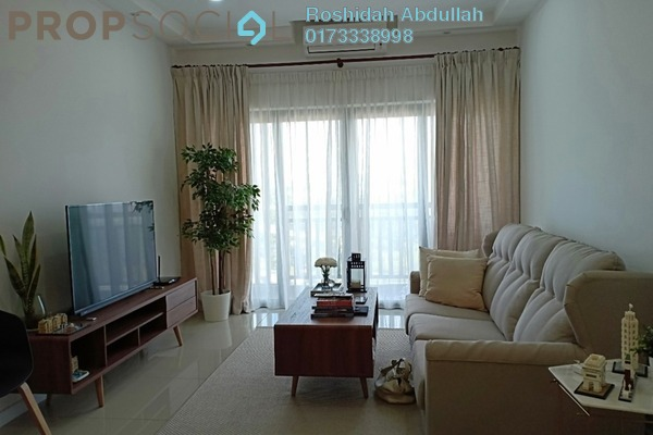 Serviced Residence For Rent in Suria Residence, Bukit Jelutong Freehold Fully Furnished 2R/2B 2.3k