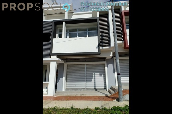 Shop For Rent in Puncak Bestari, Puncak Alam Freehold unfurnished 0R/0B 1.4k
