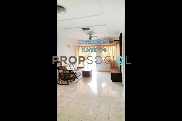 Condominium For Rent in Medan Putra Condominium, Bandar Menjalara Freehold Semi Furnished 4R/2B 1.2k