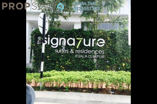 Condominium For Sale in The Signature, Sri Hartamas Freehold Fully Furnished 1R/1B 650k