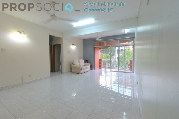 Apartment For Rent in Intan Apartment, Setiawangsa Freehold Semi Furnished 3R/2B 1.4k