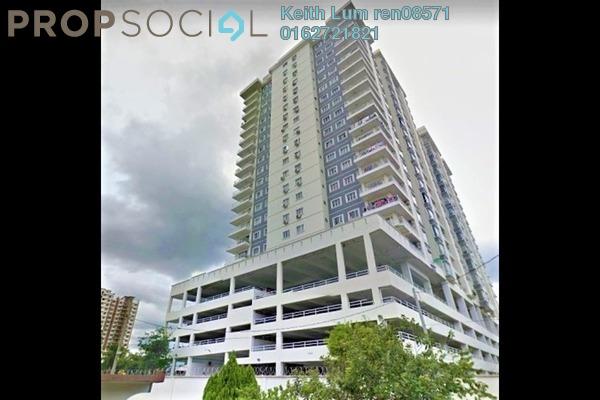 Condominium For Rent in Prima Setapak II, Setapak Freehold Fully Furnished 3R/2B 2.2k