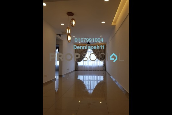 Serviced Residence For Rent in Taman Perling, Iskandar Puteri (Nusajaya) Freehold Unfurnished 3R/2B 1.4k