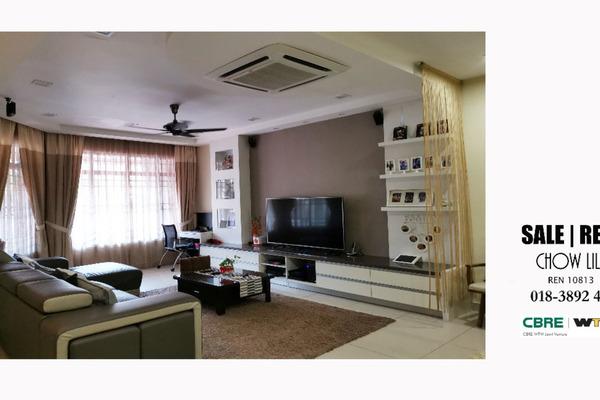 Terrace For Sale in BU6, Bandar Utama Freehold Semi Furnished 4R/4B 2m