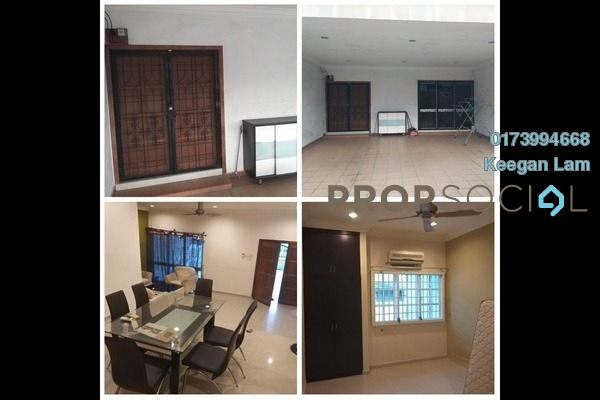 For Rent Terrace at Taman Segar, Cheras Freehold Fully Furnished 4R/3B 2.3k