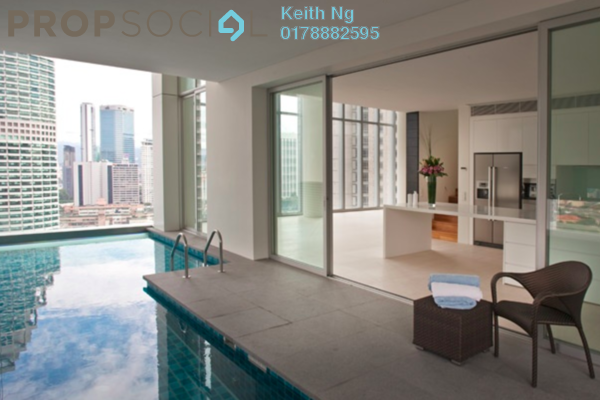 For Sale Condominium at One KL, KLCC Freehold Semi Furnished 3R/4B 3.6m