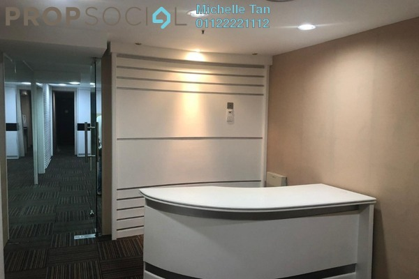 Office For Sale in Plaza 138, KLCC Freehold Fully Furnished 0R/0B 1m