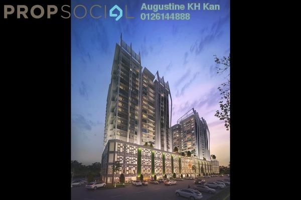Condominium For Rent in Epic Residence, Bandar Bukit Puchong Freehold Semi Furnished 2R/1B 1.5k