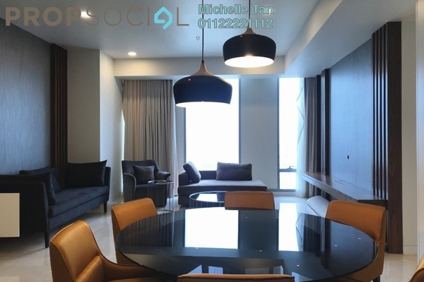 Serviced Residence For Rent in Tropicana The Residences, KLCC Freehold Fully Furnished 2R/2B 7.79k