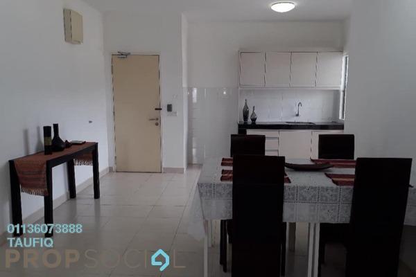 Apartment For Rent in Seri Baiduri, Setia Alam Freehold Fully Furnished 3R/2B 1.1k