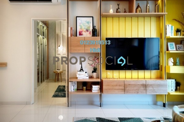Condominium For Sale in Alstonia Hilltop Homes, Bukit Rahman Putra Freehold Semi Furnished 3R/2B 575k